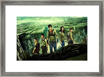 Maze Runner 6 Framed Print by Movie Poster Prints