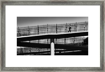 Maze Framed Print by Steven Milner