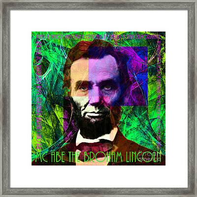 Mc Abe The Broham Lincoln 20140217p108 Framed Print by Wingsdomain Art and Photography