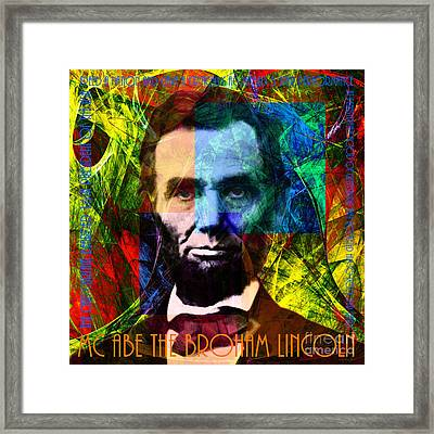 Mc Abe The Broham Lincoln 20140217p28 Framed Print by Wingsdomain Art and Photography