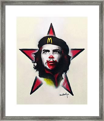 Mc Che Guevara Framed Print by Eusebio Guerra