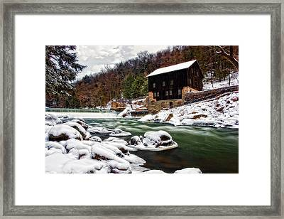 Mcconnell's Mill Framed Print by Marcia Colelli