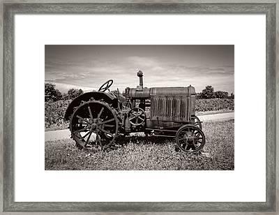 Mccormick Deering 15-30 Framed Print by Debra and Dave Vanderlaan