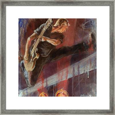 Mccready Framed Print by Josh Hertzenberg