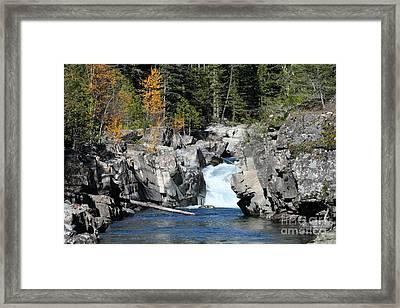 Mcdonald Creek Framed Print by Bob Hislop