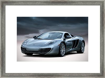 Mclaren Mp4 12c Framed Print by Douglas Pittman