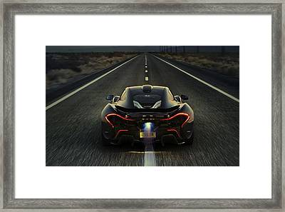 Mclaren P1 2014 Framed Print by Movie Poster Prints