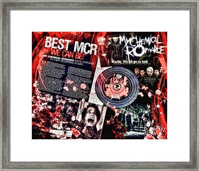 MCR Framed Print by Mo T
