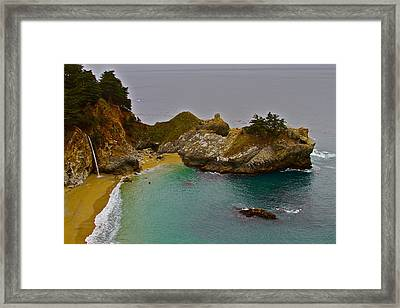 Mcway Fall Framed Print by Michael Blesius
