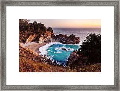 Mcway Falls Framed Print by Alexis Birkill