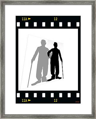 Me And My Shadow Framed Print by Jann Paxton