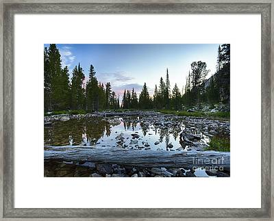 Meadow Creek Framed Print by Idaho Scenic Images Linda Lantzy