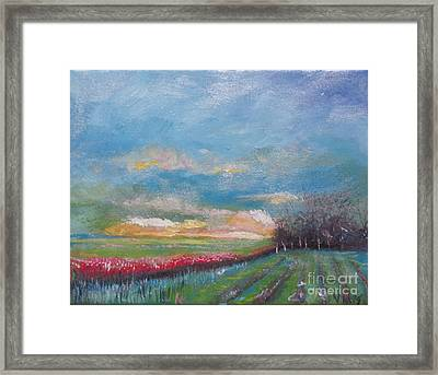 Meadow Framed Print by Rebecca Myers