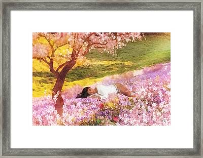 Meadows Of Heaven Framed Print by Mo T
