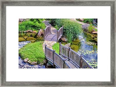 Meandering Pathway Framed Print by Christi Kraft