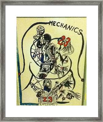 Mechanics Framed Print by Mj  Museum