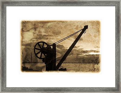 Mechanics Of The Old Days Framed Print by Semmick Photo