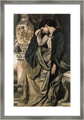 Medea Framed Print by Anselm Feuerbach