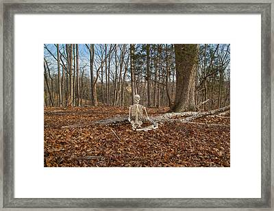 Medical Leave  Framed Print by Betsy Knapp