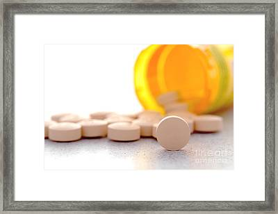 Medication Framed Print by Olivier Le Queinec