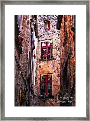 Medieval Architecture Framed Print by Elena Elisseeva