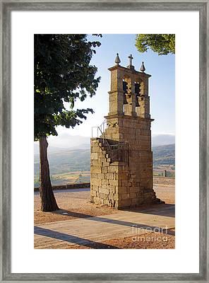 Medieval Campanile  Framed Print by Carlos Caetano