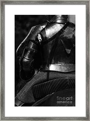 Medieval Dark Knight Framed Print by Bob Christopher