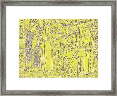 Medieval Framed Print by Graham Foulkes