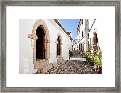 Medieval Sephardi Synagogue Framed Print by Jose Elias - Sofia Pereira