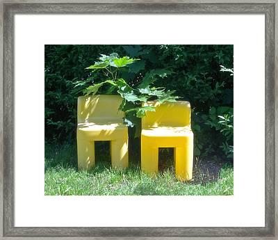 Meditation In Sunlight 34 Framed Print by The Art of Marsha Charlebois