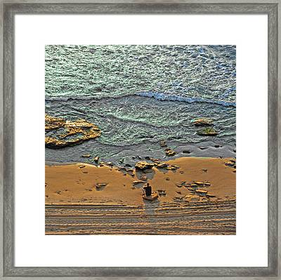 Meditation Framed Print by Ron Shoshani