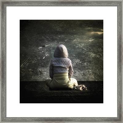 Meditation Framed Print by Stelios Kleanthous