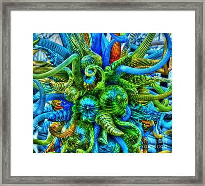 Medusa Framed Print by Debbi Granruth