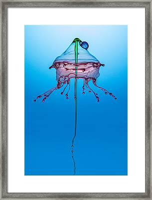 Medusa Framed Print by Jaroslaw Blaminsky
