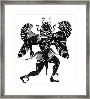 Medusa, Legendary Creature Framed Print by Photo Researchers