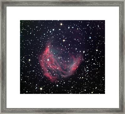 Medusa Nebula Framed Print by Celestial Images