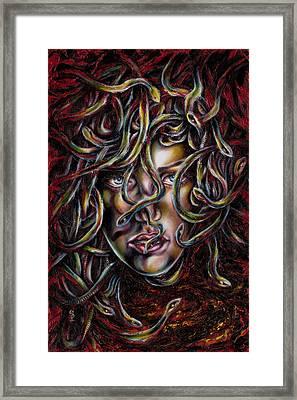 Medusa No. Three Framed Print by Hiroko Sakai