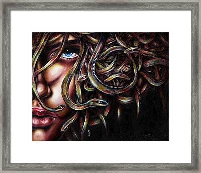 Medusa No. Two Framed Print by Hiroko Sakai