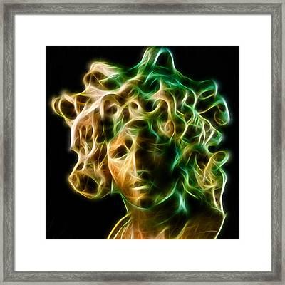 Medusa Framed Print by Taylan Soyturk
