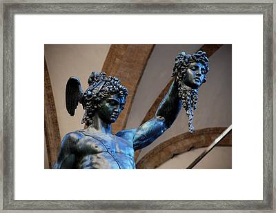 Medusa's Head Framed Print by Dany Lison