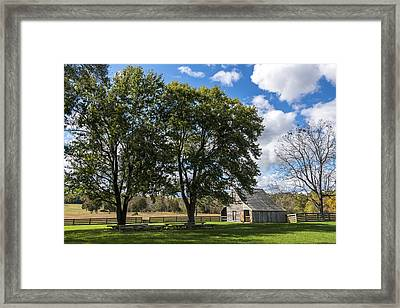 Meeks Stable Appomattox Court House National Historical Park Virginia Framed Print by Terry DeLuco