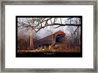 Meems Bottom Bridge 7 Framed Print by David Lester