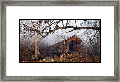 Meems Bottom Bridge 8 Framed Print by David Lester