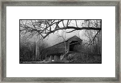 Meems Bottom Bridge 9 Framed Print by David Lester