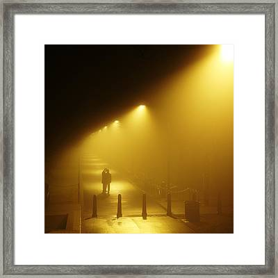 Meet Me In The Fog Framed Print by Metro DC Photography