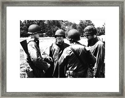 Meeting Of The Minds Framed Print by Jame Hayes