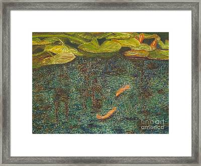 Meeting Place Framed Print by Milly Tseng
