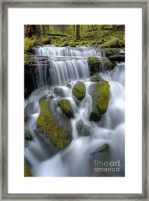 Megaflow Framed Print by Marco Crupi