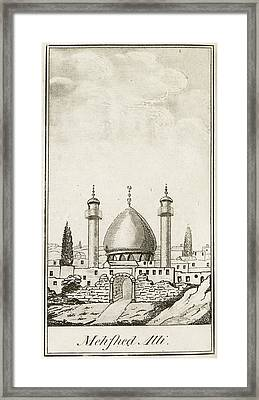 Mehfhed Alli Mosque Framed Print by British Library