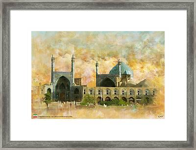 Meidan Emam Esfahan Framed Print by Catf